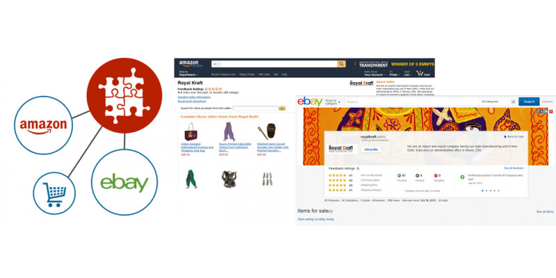 Buy our products at Amazon, Ebay or directly at Royal Kraft