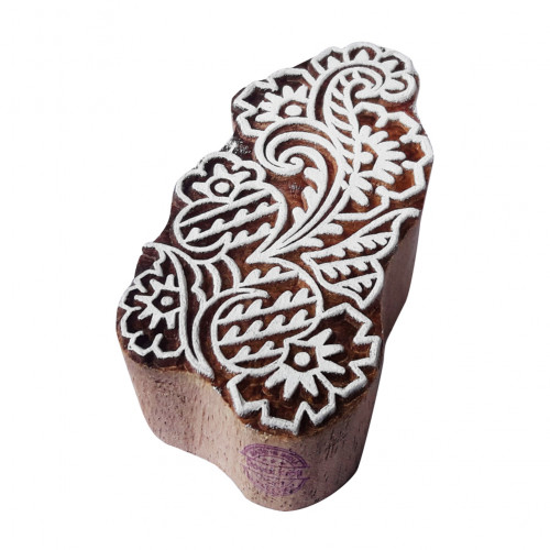Exquisite Wood Blocks Floral Designs Printing Stamps