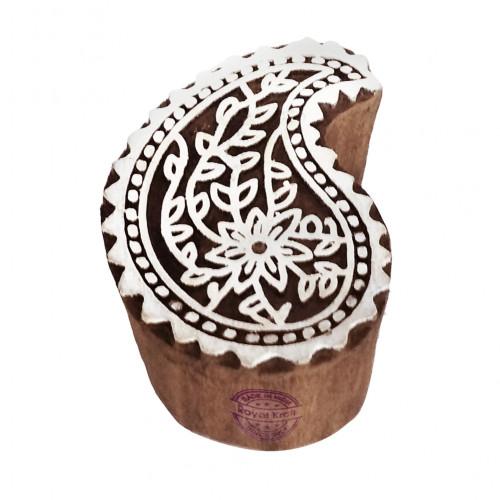 Popular Wood Blocks Flower Designs Printing Stamps
