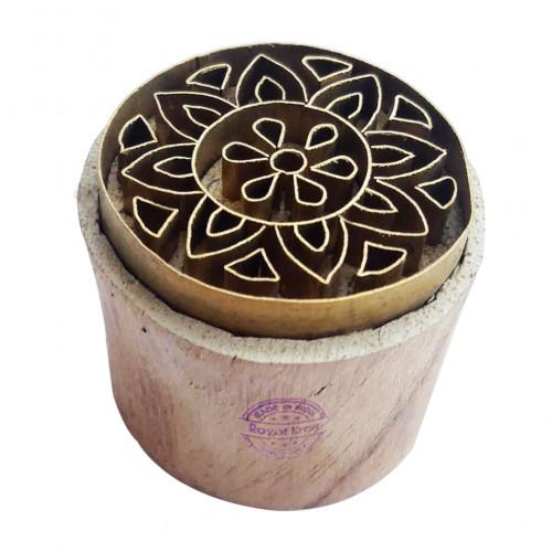 Royal kraft Printing Stamp Floral Wooden Block