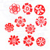 (Set of 10) Henna Wood Stamps Exclusive Small Round Design Printing Blocks