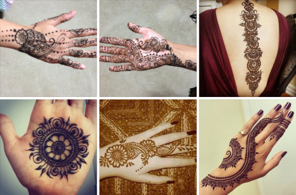 Mehndi Henna Buy : Henna mehndi designing using wooden blocks stamps
